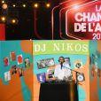 """Exclusif - Nikos Aliagas - Enregistrement de l'émission """"La chanson de l'année"""" dans les arènes de Nîmes, diffusée en direct sur TF1 le 8 juin © Bruno Bebert / Bestimage"""
