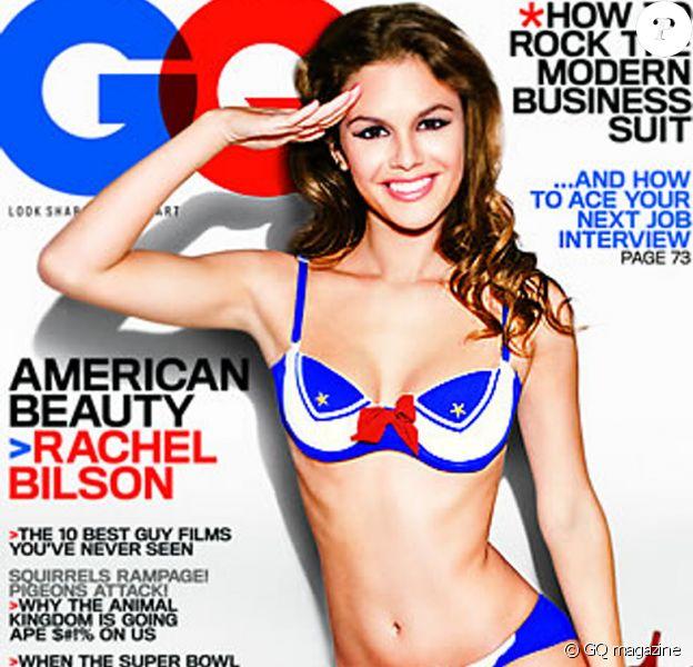 Rachel Bilson couveture de GQ