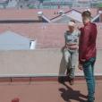"""Stan et Olga dans la série """"Plus belle la vie"""" sur France 3."""