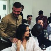 Victoria et David Beckham : Amoureux et tactiles à la Fashion Week