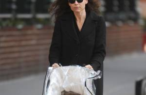 Minnie Driver : une maman morose... qui promène son irrésistible petit Henry, 7 mois !