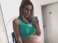 """Alexia Mori enceinte : Des contractions après avoir eu """"la peur de sa vie"""""""