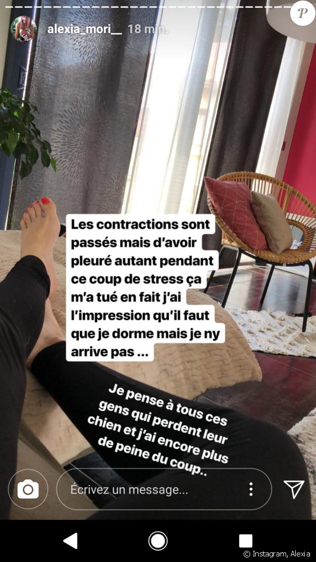 Alexia Mori - Instagram, 13 juin 2018