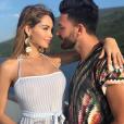 Nabilla et Thomas au Monténégro, le 3 juin 2018.