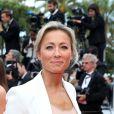 """Anne-Sophie Lapix - Montée des marches du film """" Ahlat Agaci """" lors du 71ème Festival International du Film de Cannes. Le 18 mai 2018 © Borde-Jacovides-Moreau/Bestimage"""