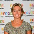 Anne-Sophie Lapix lors du photocall de la présentation de la nouvelle dynamique 2017-2018 de France Télévisions. Paris, le 5 juillet 2017. © Guirec Coadic/Bestimage