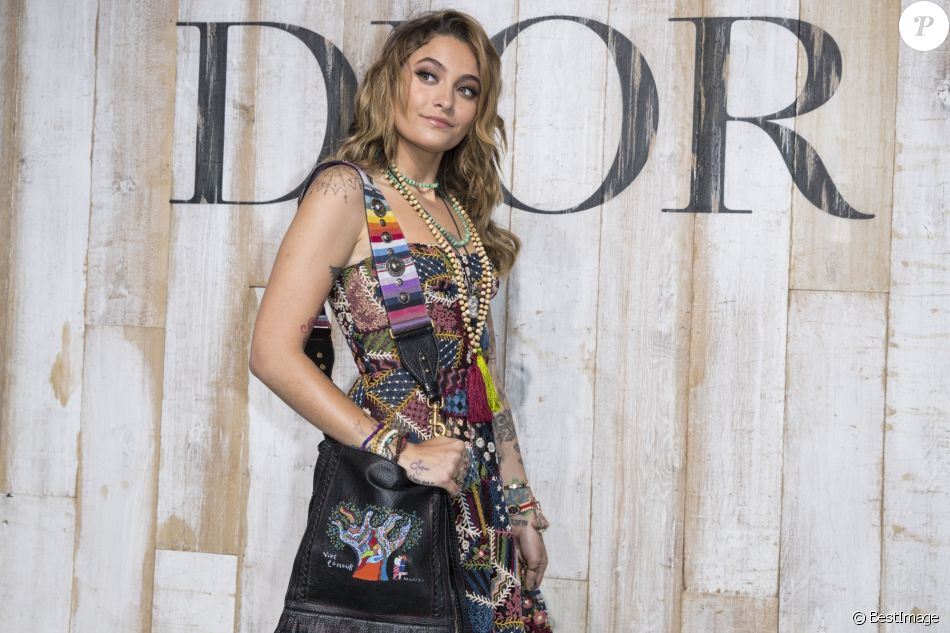 Paris Jackson - Photocall de la collection croisière Christian Dior Couture printemps-été 2019 dans les grandes écuries du château de Chantilly, France, le 25 mai 2018. © Olivier Borde/Bestimage