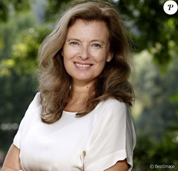 Portrait de Valerie Trierweiler, le 27 août 2017.