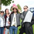 Le groupe Naïve New Beaters - 169ème Prix de Diane Longines sur l'hippodrome de Chantilly, France, le 17 juin 2018. © Giancarlo Gorassini/Bestimage