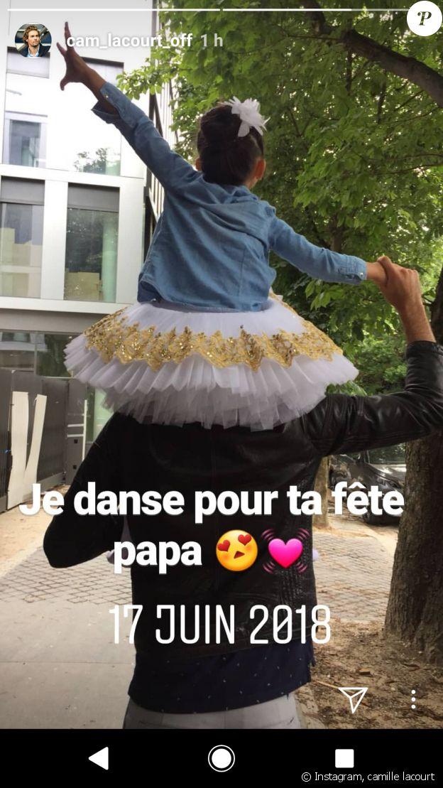 Camille Lacourt et Jazz, 17 juin 2018