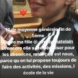 Jérémy Chatelain, papa fier de sa fille Annily (13 ans), bonne élève au collège.