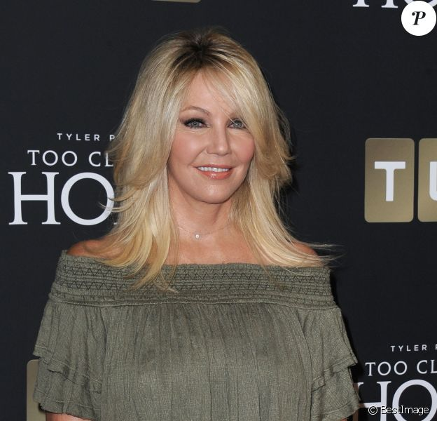 Heather Locklear à la première de la série 'Too Close To Home'' à Beverly Hills, le 16 août 2016 © Dave Longendyke/Globe Photos via Zuma/Bestimage