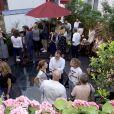 """Exclusif - Ambiance - Soirée d'été sur la terrasse """"Secrète"""" du restaurant du Roch Hotel & Spa à Paris. Le 20 juin 2018. ©Julio Piatti"""
