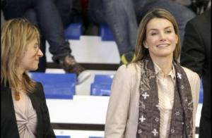 Letizia d'Espagne : une magnifique supporter de... chic et de choc !