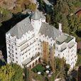 L'hôtel château Marmont à Hollywood