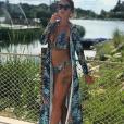 Julia Paredes en bikini - Instagram, juin 2018