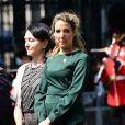 La princesse Tessy de Luxembourg (Tessy Antony) lors d'une cérémonie au Cénotaphe à Londres le 23 mai 2018.