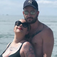 Manon (The Voice) et son mari - Instagram
