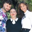 Manon (The Voice), son mari et Ophélie Meunier - Instagram
