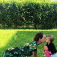 Julia Paredes et sa fille Luna - Instagram, juin 2018