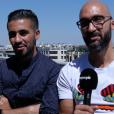 """Mehdi et Oussama, 42 et 30 ans, les amis d'enfance, candidats dans """"Pékin Express : La Course infernale"""" (M6) en interview pour Purepeople.com"""