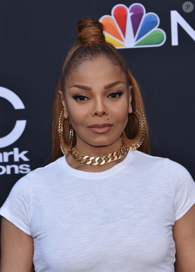 Janet Jackson à la soirée Billboard Music awards au MGM Grand Garden Arena à Las Vegas, le 20 mai 2018