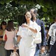 """Rihanna à la sortie du défilé de mode Homme printemps-été 2019 """"Louis Vuitton"""" à Paris le 21 juin 2018. © CVS / Veeren / Bestimage"""