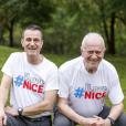 """Thierry et Maurice, le fils et le père octogénaire niçoi (54 et 80 ans), candidats de """"Pékin Express : La Course infernale"""" (M6)."""