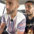 """Mehdi et Oussama dans l'épisode 1 de """"Pékin Express : La Course infernale"""" sur M6."""