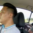"""Didier et Audrey lors du duel final dans l'épisode 1 de """"Pékin Express : La Course infernale"""" sur M6."""