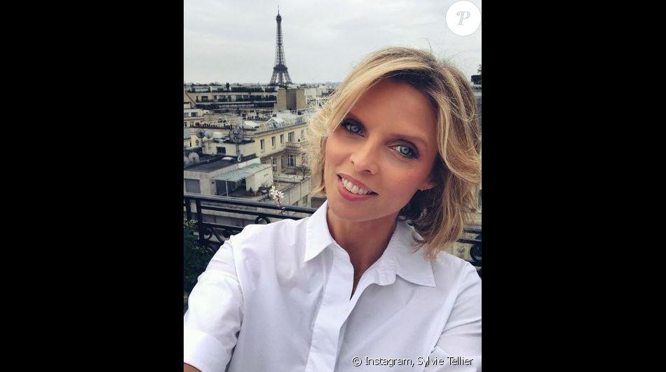 Sylvie Tellier enceinte et sur le point d'accoucher - Instagram, 9 juillet 2018