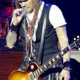 Johnny Depp du groupe Hollywood Vampires en concert au Tollwood-Festival à Munich. Le 27 juin 2018