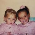 Pauline Ducruet a exhumé cette photo d'enfance pour le 20e anniversaire de sa soeur Camille Gottlieb, le 15 juillet 2018. Instagram.