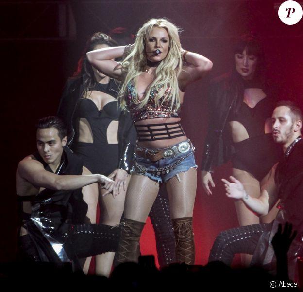 Britney Spears à San Jose, le 3 décembre 2016.
