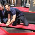 Hugh Jackman au Grauman's Chinese Theater, à Los Angeles. 22/04/09
