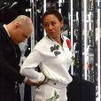 Exclusif - Mel B (Melanie Brown) et son ami Gary Madatyan font du shopping chez Philipp Plein à Los Angeles, le 30 juin 2018
