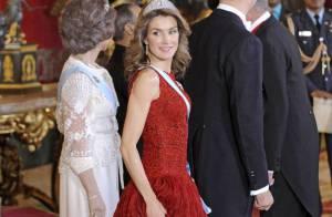 Letizia d'Espagne : tenue de jour ou robe de princesse... tout lui va à merveille !
