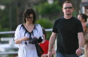 Bono et sa femme : entre eux... c'est plus tendre !
