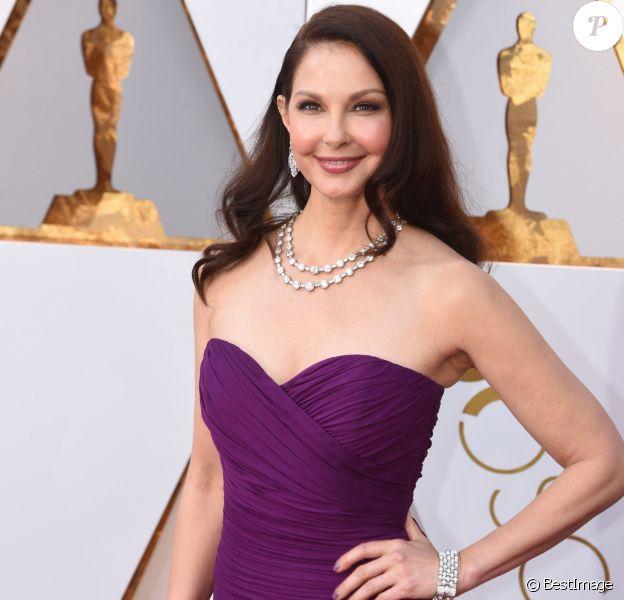 Ashley Judd - Arrivées - 90ème cérémonie des Oscars 2018 au théâtre Dolby à Los Angeles, le 4 mars 2018. © Kevin Sullivan via Zuma Press/Bestimage