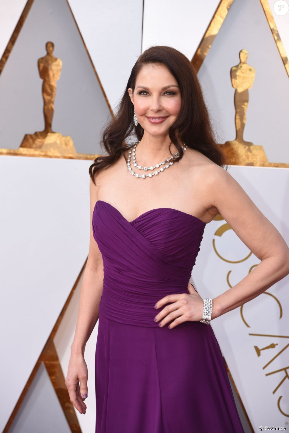 Ashley Judd - Arrivées - 90ème cérémonie des Oscars 2018 au théâtre Dolby à Los Angeles, le 4 mars 2018. © Kevin Sullivan via Zuma Press/Bestimage