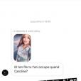 Caroline Receveur, son coup de gueule contre les haters le 19 juillet 2018.