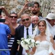 Vedran Corluka, défenseur international croate, et Franka Batelic, chanteuse, se sont mariés le 21 juillet 2018 à Bale, en Istrie, Croatie.