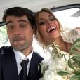 Vedran Corluka, défenseur international croate, et Franka Batelic, chanteuse, se sont mariés le 21 juillet 2018 à Bale, en Istrie, Croatie. Photo Instagram.