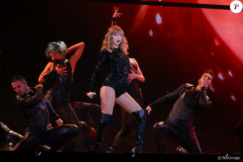 Concert de Taylor Swift dans le cadre de sa tournée Reputation Stadium Tour, au MetLife Stadium a East Rutherford dans le New Jersey, le 20 juillet 2018. © Gersende Suret / Bestimage