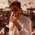 Sébastien (La Villa) qui a récemment rompu avec Hillary - Instagram, 11 juillet 2018