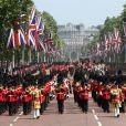 Image de la parade Trooping the Colour le 9 juin 2018 à Londres.