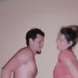 Laury Thilleman et son chéri Juan Arbelaez amoureux sur l'île de Porquerolles, le 24 juillet 2018.