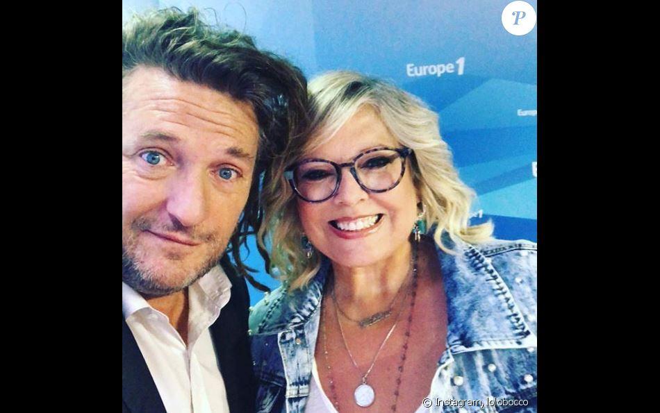 Laurence Boccolini dévoile son nouveau look aux côtés d'Olivier Delacroix, sur Instagram, le 20 juillet 2018