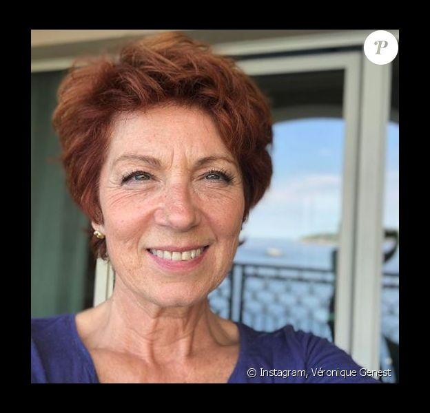 Véronique Genest au festival de la télévision à Monte Carlo - Instagram, 15 juin 2018