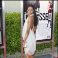 Jessica White durant la première à New York du film Obsessed de Steve Shill